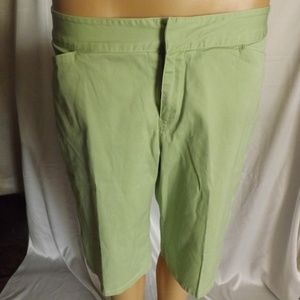 Womens TOMMY BAHAMA Bermuda Shorts - Mint green- 8